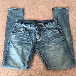 Seven7 Light Wash Skinny Jeans Size 30